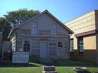1868 C.N. James Log Cabin