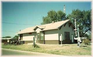 Hugoton Santa Fe Depot